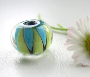Handmade glass bead