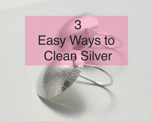 how-to-clean-silver-textured-silver-earrings