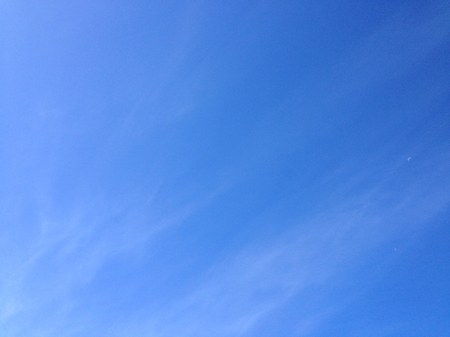 Brisbane Summer Blue sky