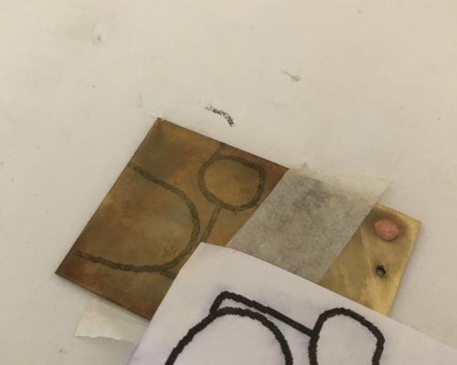 Copying a Pattern onto Metal
